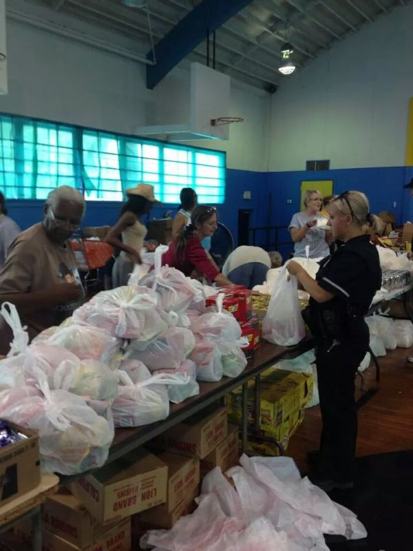 Food Bank Give Away 1